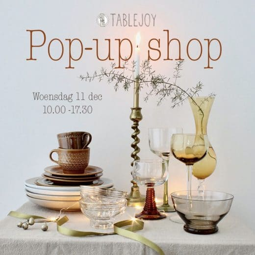 Tablejoy Pop-up shop 2019