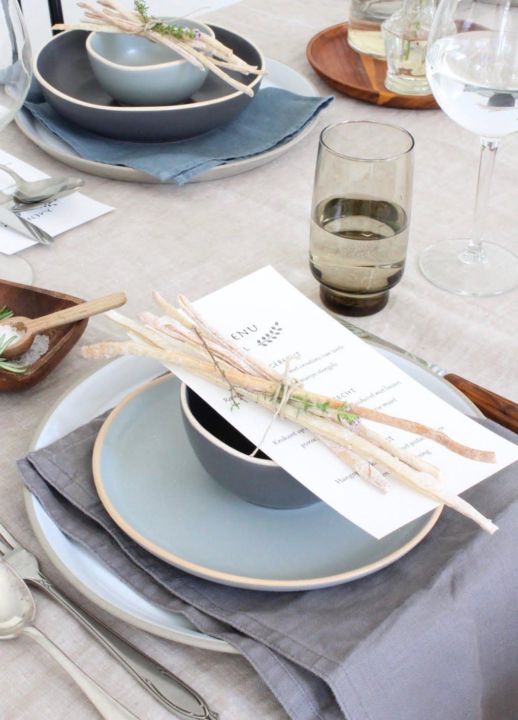 grissini's met menu