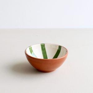 Casa Cubista kleine kom segment groen