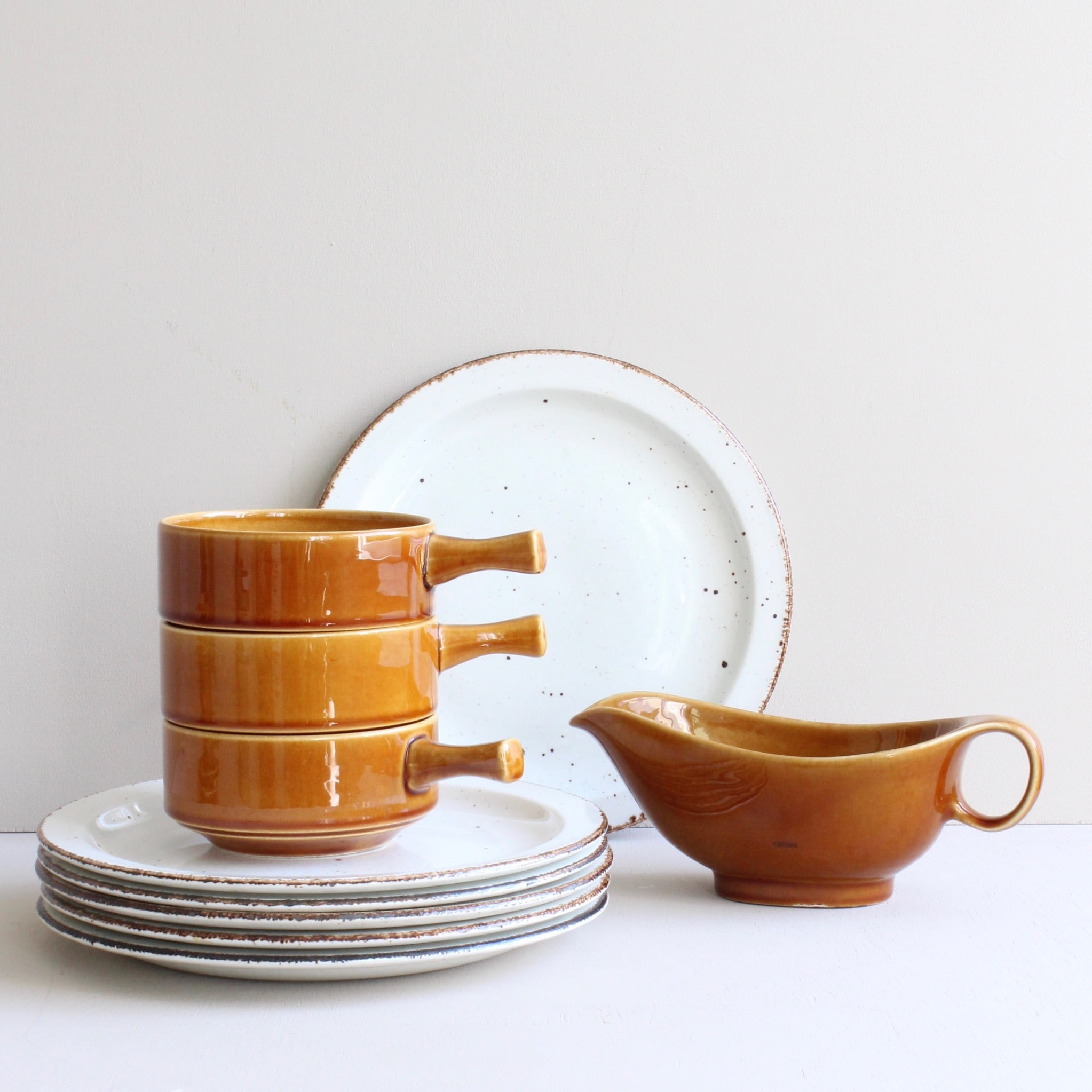 Mix vintage servies Maastricht en Midwinter