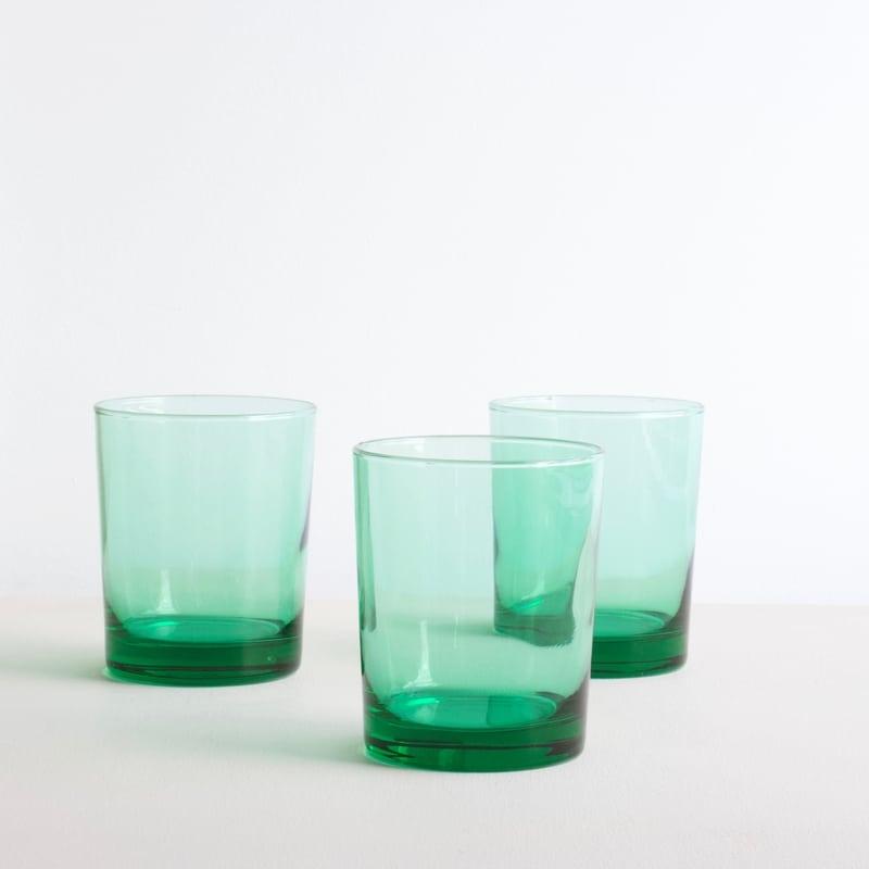 emerald groen waterglas
