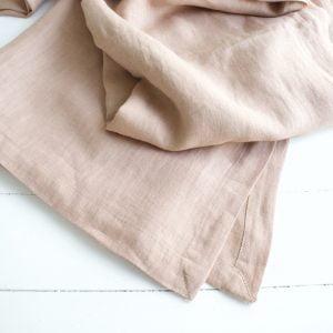 Tafelkleed van linnen, kleur glaze