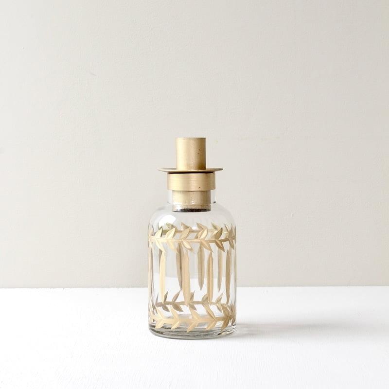 Fles kandelaar van Zenza