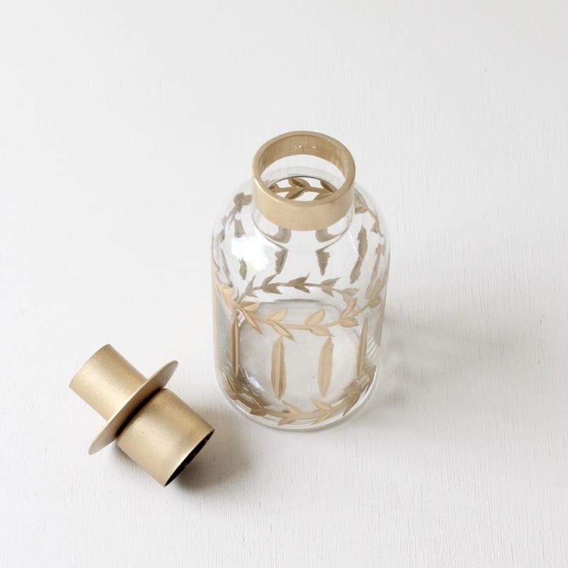 Kandelaar van glas