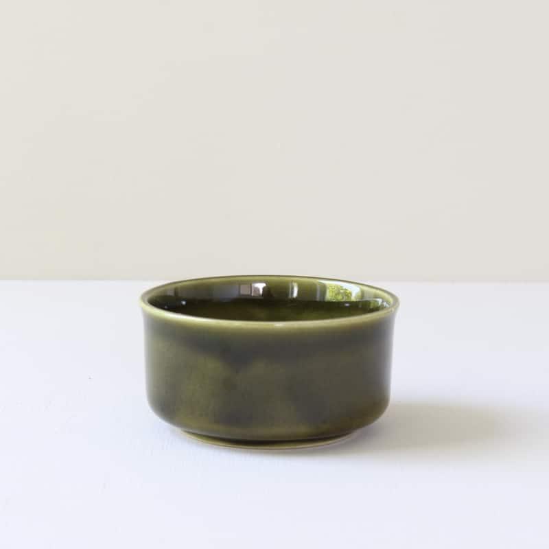 vintage klein groen schaaltje
