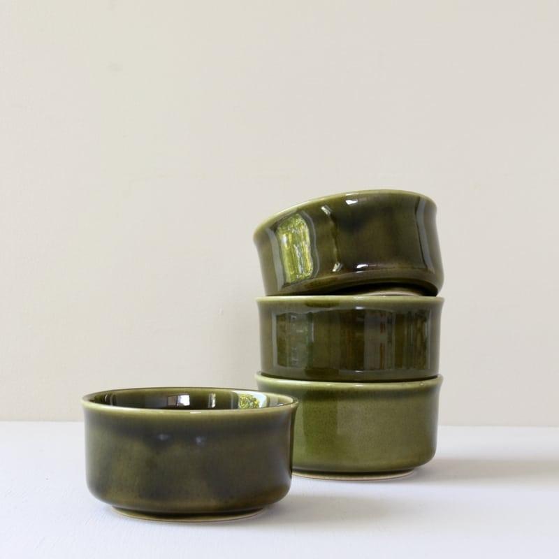 vintage groene schaaltjes