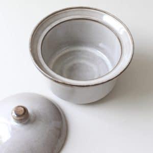 Schaal met deksel Potterie De Driehoek