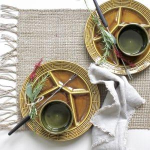 Tafeldekken voor fondue