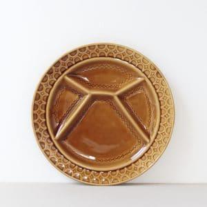 Vintage fonduebord Sarreguemines