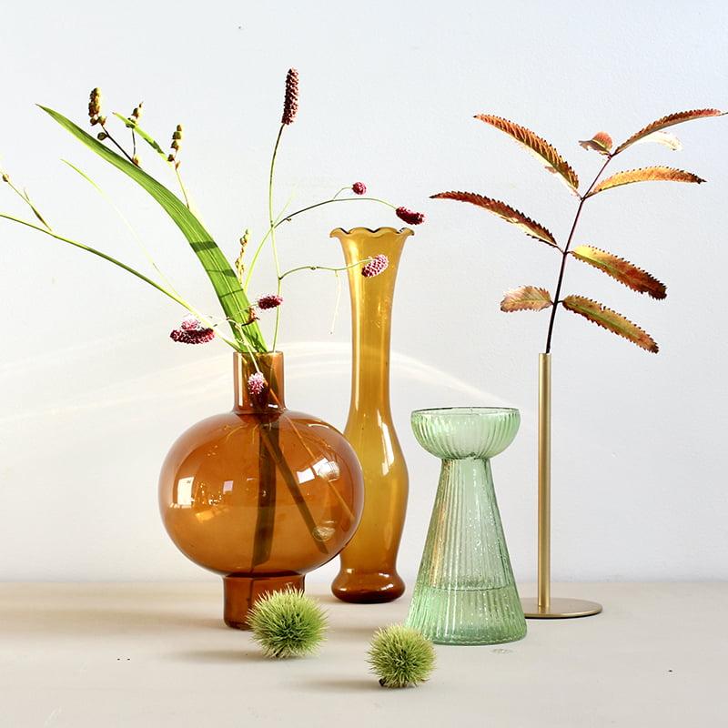 Vazen van glas combineren